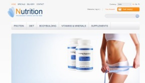 Nutrition eCommerce Site